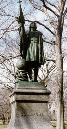 Columbus, sito en Central Park, New York
